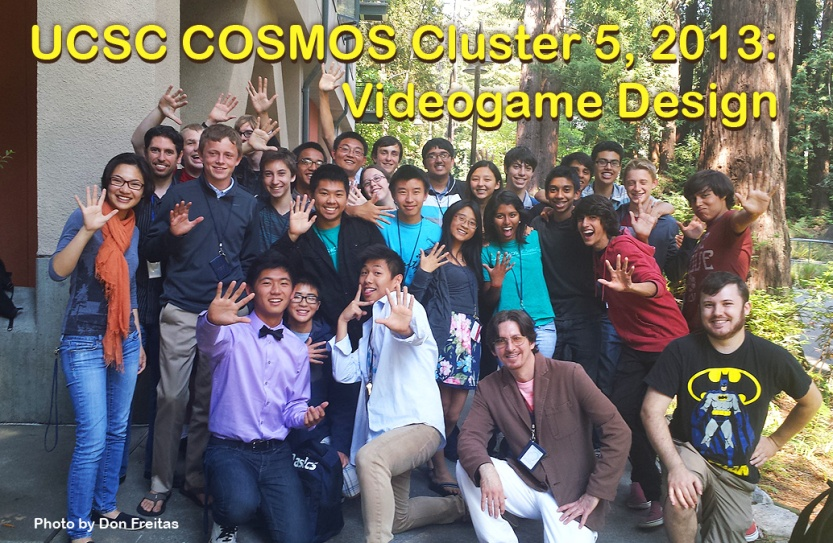 COSMOS Game Design Cluster 2013.