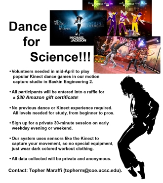 Dance for Science Study