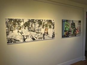 Topher Maraffi work in Sea Island Center gallery for USCB Film & Digital Media Exhibition, 2018.