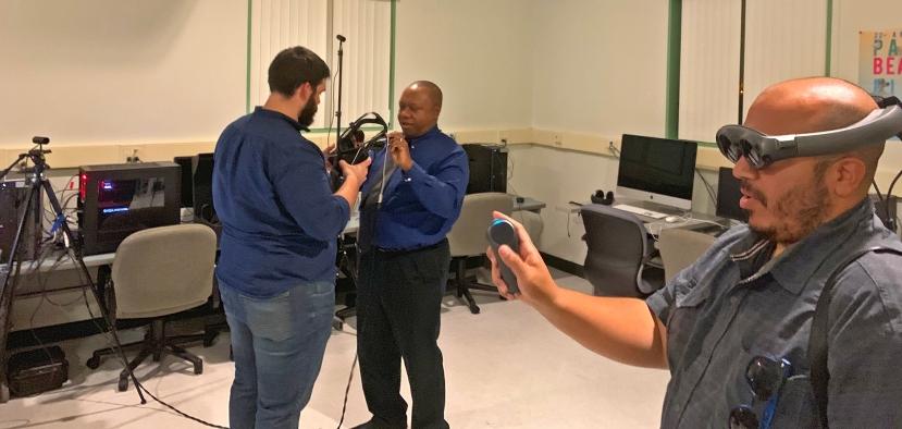 MTEn-XR Lab Willie Freeman and Brandon Martinez