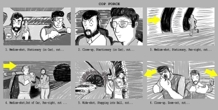 Visual Design Storyboard by Chris Kitchen