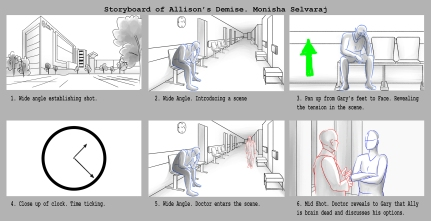 Preproduction Storyboard by Monisha Sevaraj