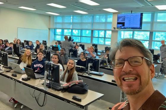 Selfie in MODS-Apptitude class 2019