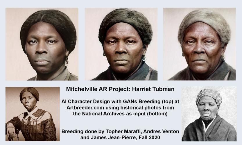 Harriet Tubman AI Examples, Maraffi 2020