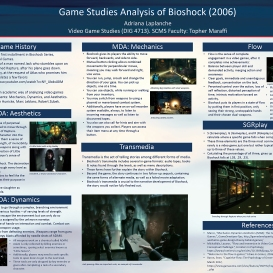 Adriana Laplanche, Game Analysis Poster, Spring 2020