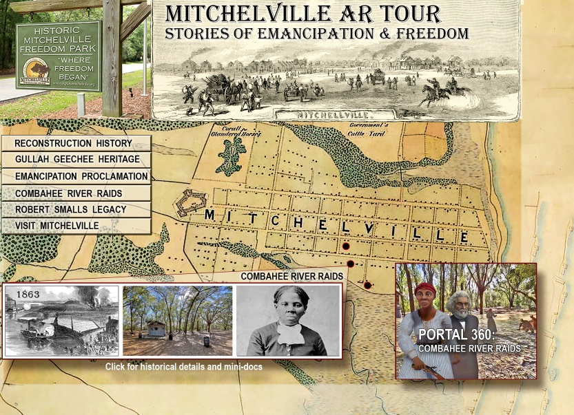 Mitchelville AR Tour Web Design 2020
