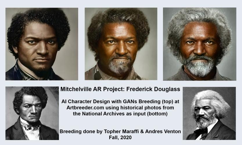 Frederick Douglass AI Examples, Maraffi 2020