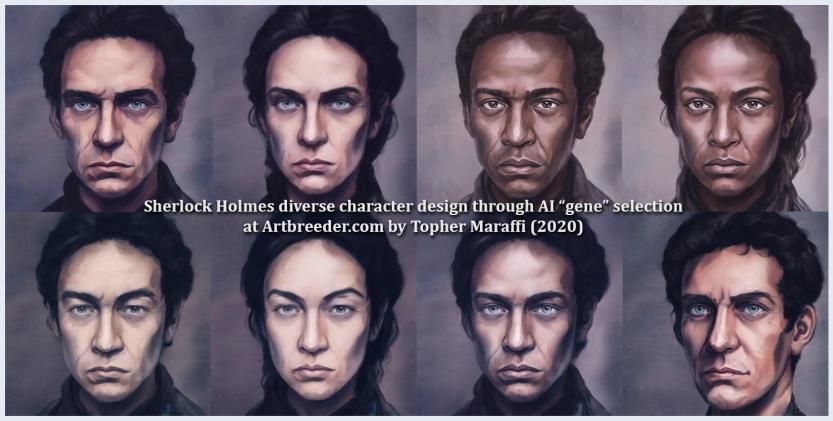 Sherlock AI Diversity, Maraffi 2020